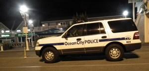 Ocean City Police investigate a suspicious death.  THE CHESAPEAKE TODAY photo