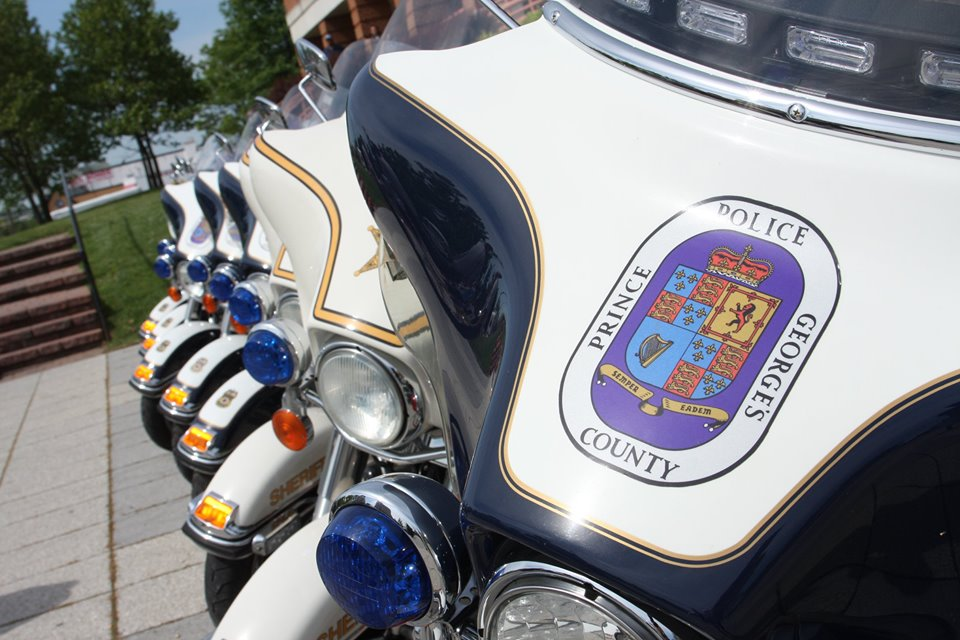 Prince Georges County  Police motor units
