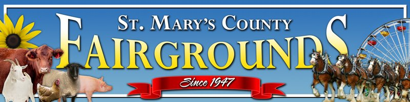 St. Mary's Fair kicks off on Sept. 18th with 3 pm opening and 4 pm exhibits, ice carving at 5 pm, 4-H livestock judging at 5 pm; 4-H market Goat Show at 6 pm in the show ring; Barnyard Runners Pig Races at 6 pm; Masters of the Chainsaw at 6:30 pm; Official Opening in new auditorium at 7 pm; and much more!  Fair Grounds, Rt. 5 Leonardtown Maryland