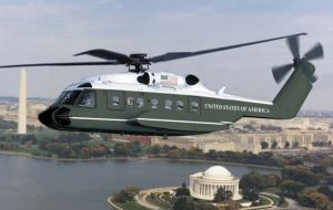 The next Presidential helicopter. Photo from Sikorsky.