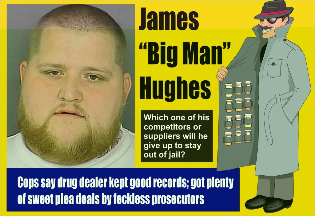 James Big Man Hughes drug dealing ledgers