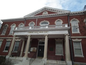 Somerset County 1904 Courthouse, Princess Anne, Md. THE CHESAPEAKE TODAY photo