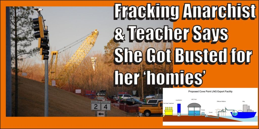 Fracking anarchist and teacher says she got busted for her homies