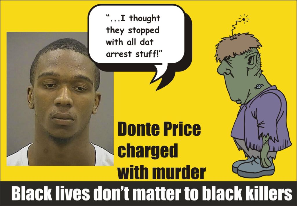 Black lives don't matter to black killers