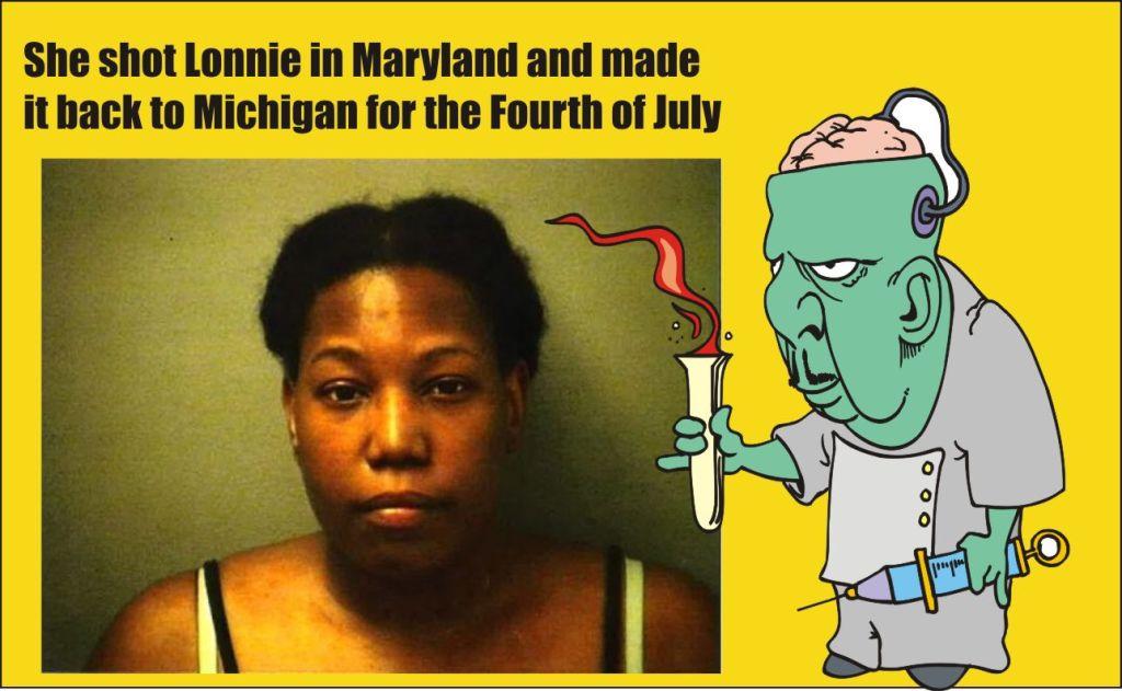 Deidra Griffin shot Lonnie Paye Jr and fled to Michigan