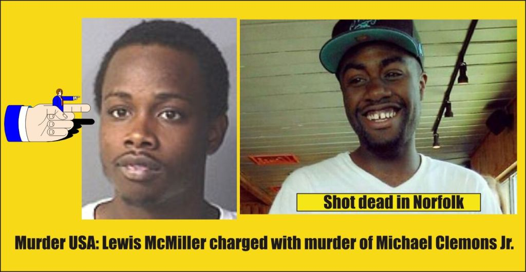 Lewis McMiller 21 of Norfolk charged with second degree murder 071615