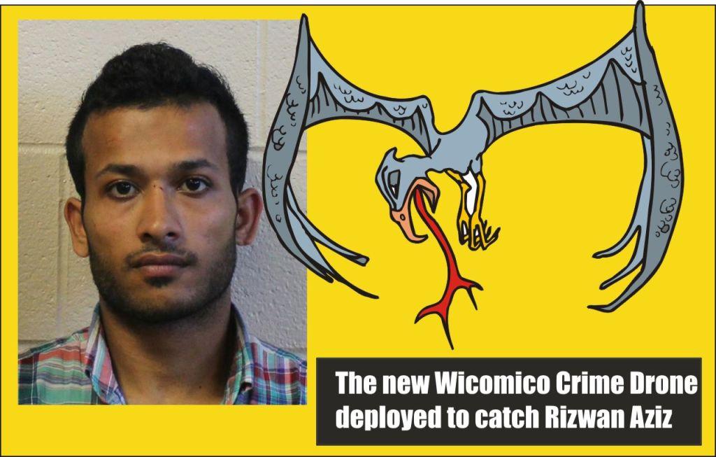 Aziz and the Wicomico Crime Drone