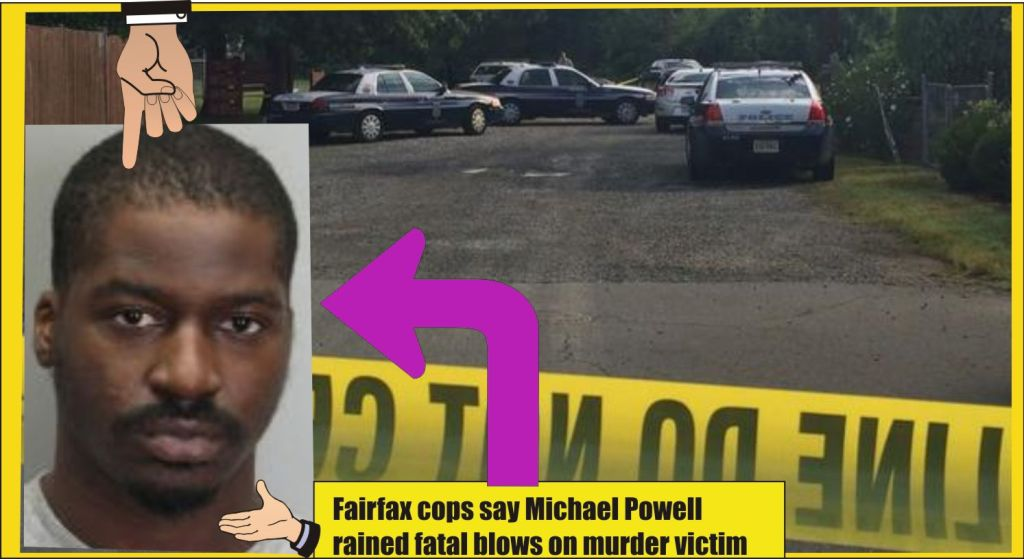 Huntington Park murder Fairfax County