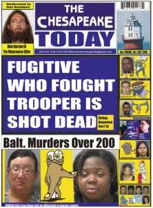 The Chesapeake Today Vol 9 No 4 front page