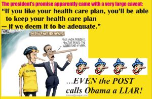Obama the Liar-In-Chief