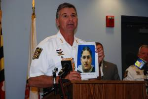 Sheriff shows photo of drug suspect
