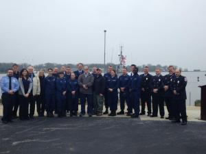 All of the actors of the Potomac River rescue reunited in Annapolis. Photo courtesy of 2nd District Vol. Fire Dept.