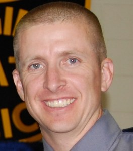 Virginia State Police Trooper Chad Dermyer shot dead at Richmond bus station on March 31, 2016.