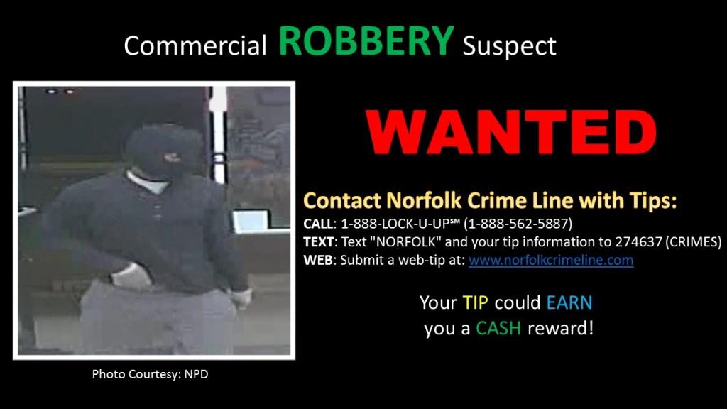 Robbery 7Eleven Norfolk Va 040516
