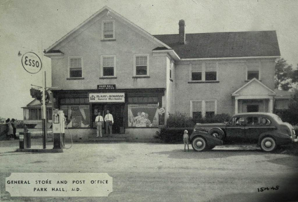 McKay & Bohanan's Store and Post Office Park Hall, Md.