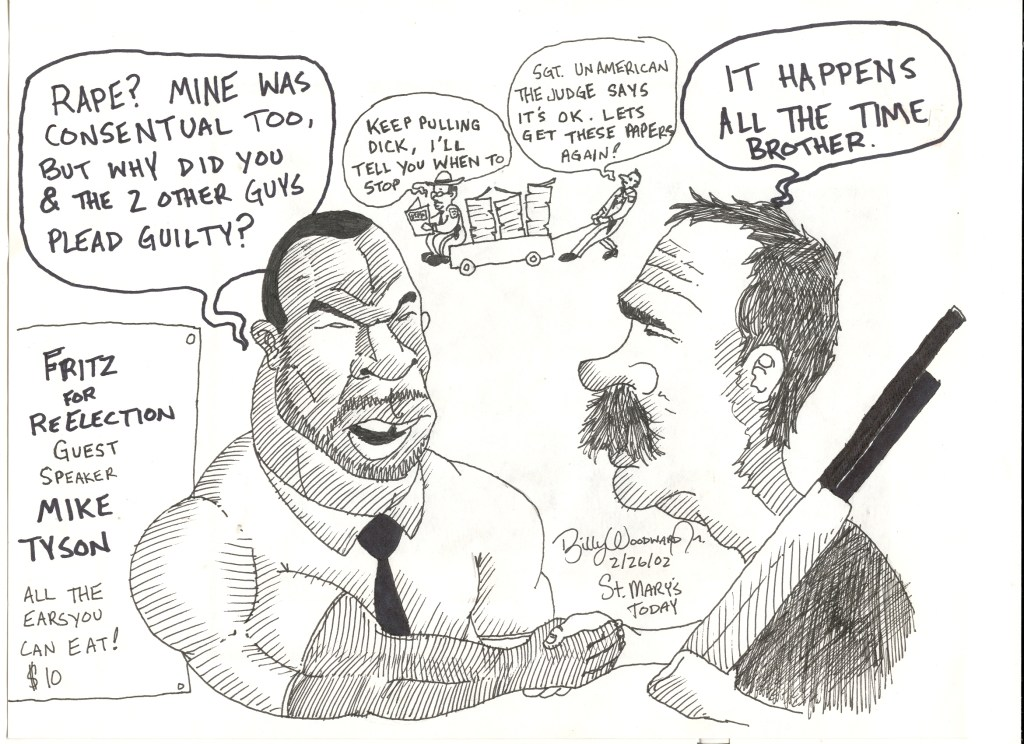 Mike Tyson & Fritz 2-26-2002