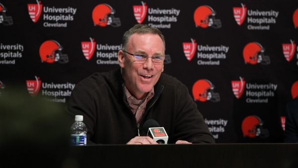 """Marylander takes over Cleveland Browns; former Packers linebacker John Dorsey wants to """"awaken this sleeping giant"""""""