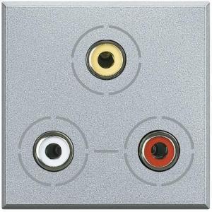Presa video 3 connettori RCA TECH HC4283 BTICINO