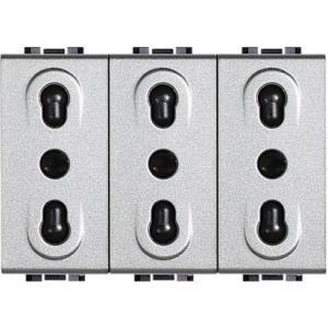 Light Tech - Presa Bipasso 16A Triplex Nt4180/3