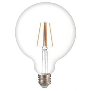 Lampada led globo filamento 8w attacco grande e27