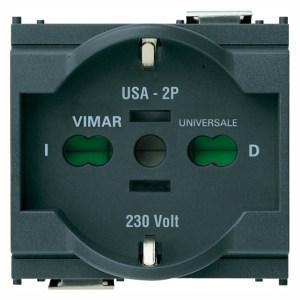 Presa universale grigia 16210 VIMAR