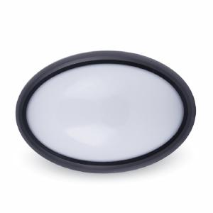 Plafoniera LED OVALE NERA 8W V-TAC