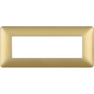 Matix Placca 6P gold AM4806MGL BTICINO