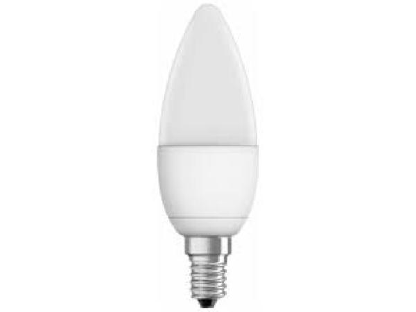 Lampadina LED a oliva 6W E14 470Im