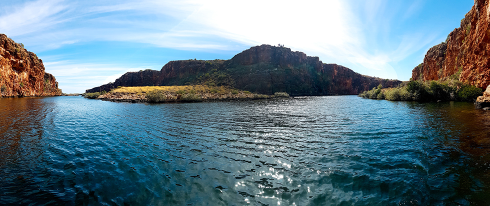 Beautiful Yardie Creek Gorge in Exmouth, Western Australia