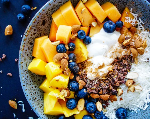 Fruit and Yoghurt Breakfast Bliss Bowl