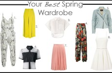 Your best spring wardrobe