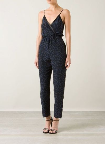 Farfetch, Far fetch, far fetch clothing, Holmes and Yang, Leopard Print, Holmes and Yang Clothing, Sleeveless Jumpsuit, jumpsuits, jumpsuits for women, overalls for women, ladies jumpsuits, ladies playsuits, latest fashion trends, latest trends in fashion, latest fashion trends, summer clothes for women, women