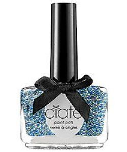 Ciate, Ciate Paint Pot, Glitter Nail Polish, Blue Nail Polish, Nail Design, Nail Art, Beauty Trends, Summer Trends, Beauty tips, Makeup Tips, Nail Polish, Nail trends, Nail polish trends, Sephora Nail Polish, Gel Nail polish, Matte Nail polish, Metallic Nail Polish, Metal Nail Polish,