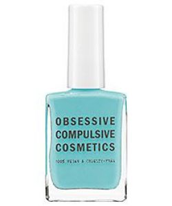 Obsessive Compulsive Cosmetics, Obsessive Compulsive Nail Pollsh, Blue Nail Polish, Neon Nail Polish, Nail Design, Nail Art, Beauty Trends, Summer Trends, Beauty tips, Makeup Tips, Nail Polish, Nail trends, Nail polish trends, Sephora Nail Polish, Gel Nail polish, Matte Nail polish, Metallic Nail Polish, Metal Nail Polish,