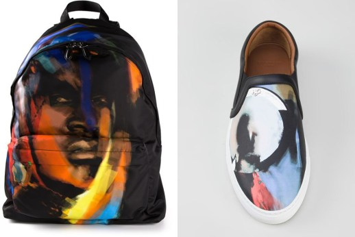 menswear art shoe and bag