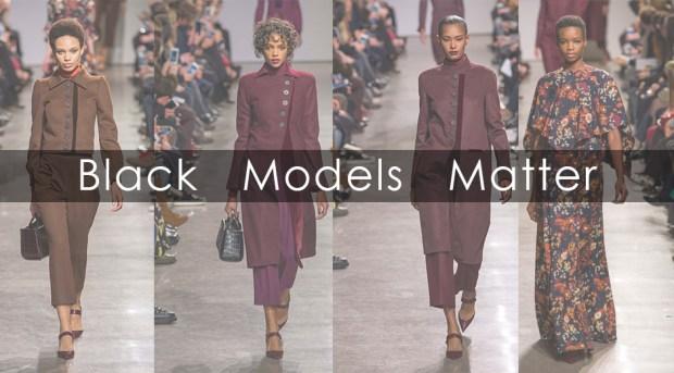 zac posen Black Models Matter