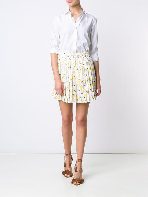 Piamita Pleated Mini Skirt - The Webster - Farfetch.com, Fashion trends 2016, 2016 fashion trends, fashion trend 2016, trends for 2016, spring summer 2016 trends, trends 2016, 2016 fashion trend, 2016 trends, trend 2016, spring summer 2016, fashion 2016