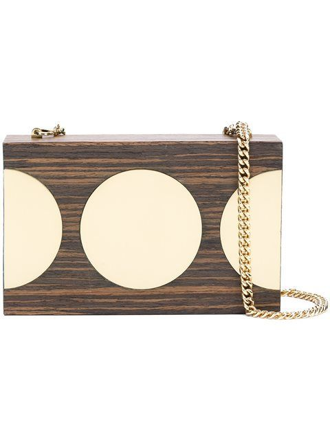 Stella McCartney Disc Detail Clutch Bag, wooden jewelry, wooden necklace, wooden accessories, Black Blogs, Shopping Blogs, Shopping Guide, Black Bloggers, Fashion Blogs, Black Women Blogs, Black Women Magazines