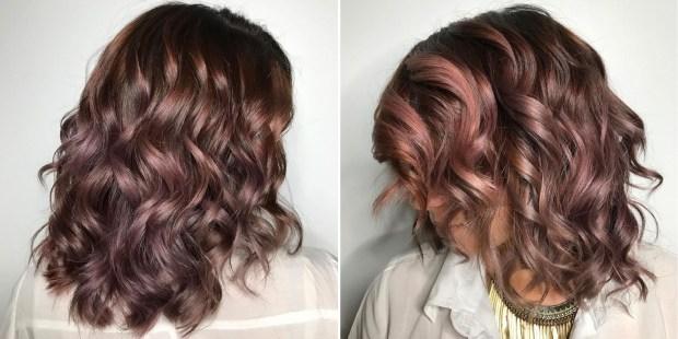 chocolate mauve hair color