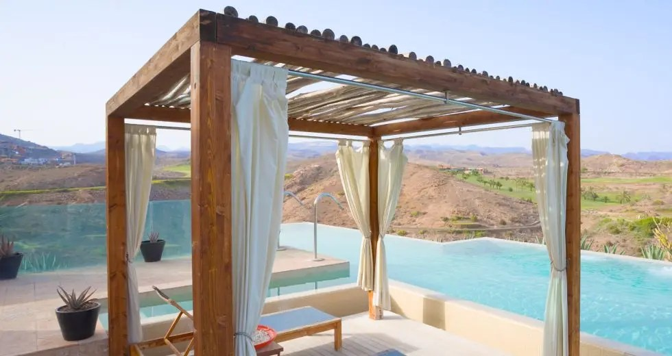 how to hang outdoor curtains the