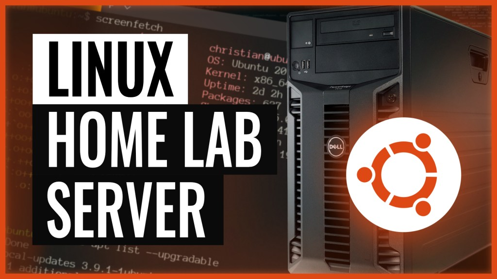 Let's build a home lab server from scratch with Linux