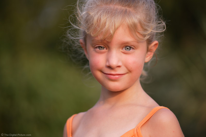 Another Macro Lens Portrait