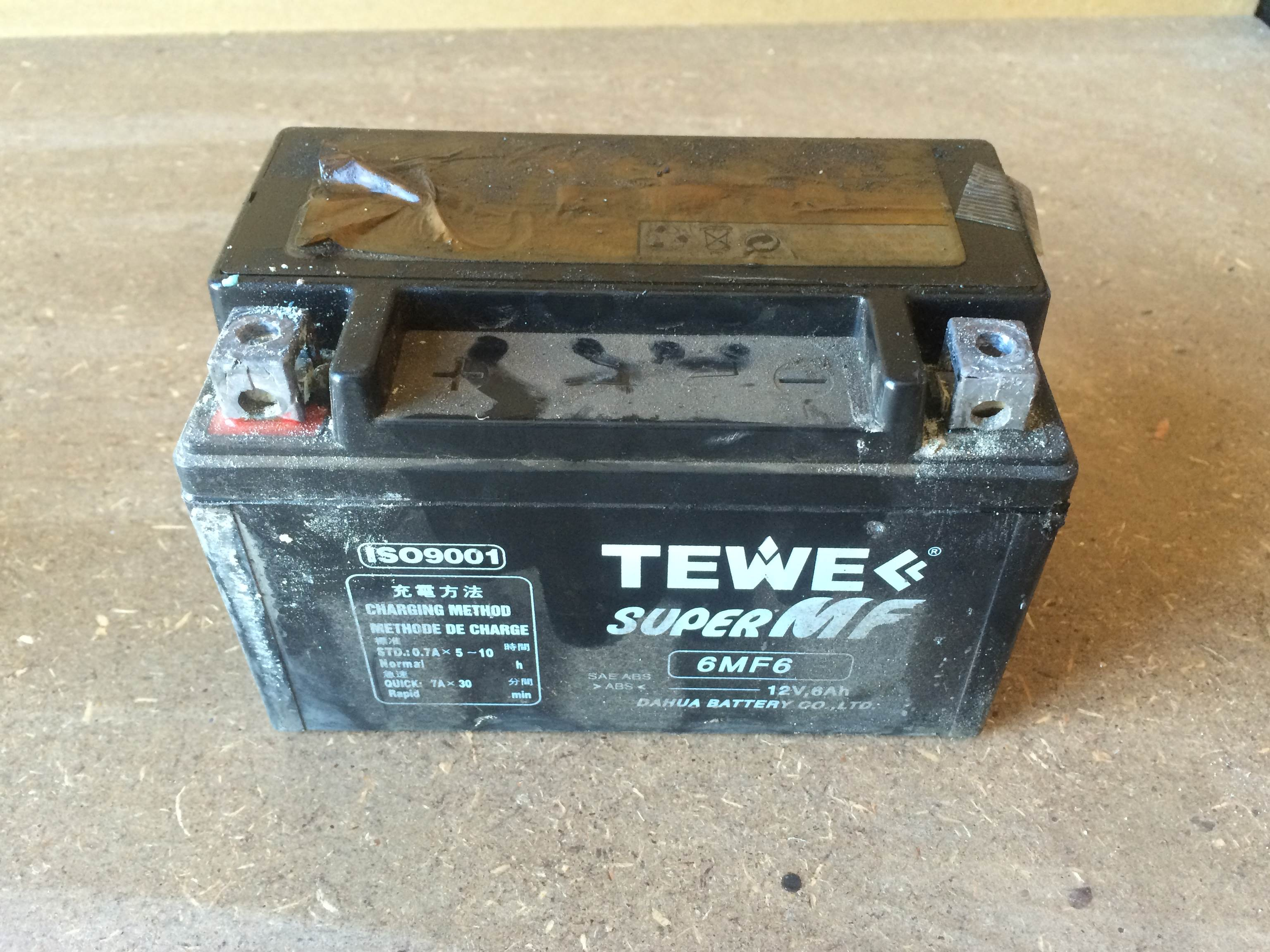 Recondition A Lead Acid Battery Dont Buy New One The Diy Life Of Plain Old Flooded Cell 12 Volt Marine You See Two Widely Take Out Vehicle And Put It Onto Solid Work Bench