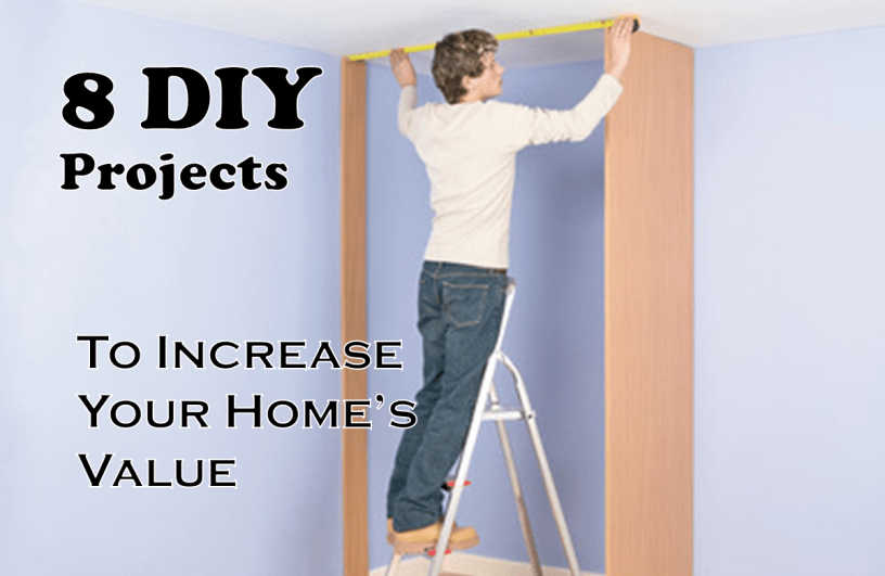 diy projects to increase your home's value
