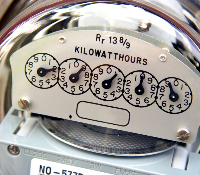 electrical bill meter