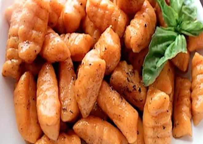 homemade gnocchi
