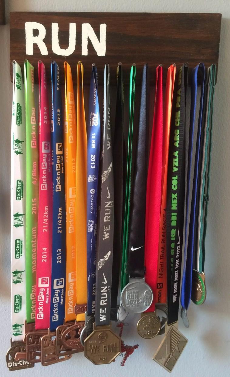 run medals hanger