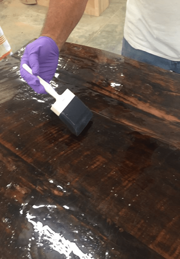 epoxy top coating