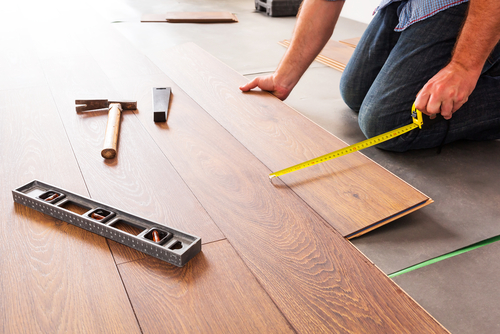 installing laminate flooring - Install Laminate Wood Flooring Yourself The DIY Life