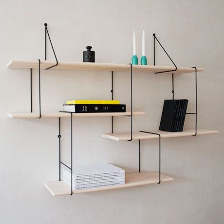 rope tie link shelf